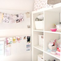 A Peak Into My Craft Room and My Ikea Shelves!