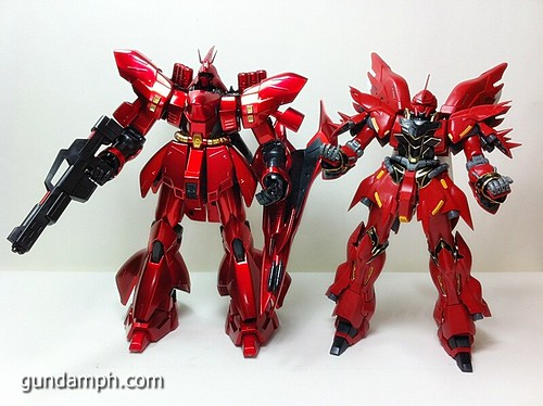 MG Sazabi Metallic Coating (Titanium-Like Finish) (68)