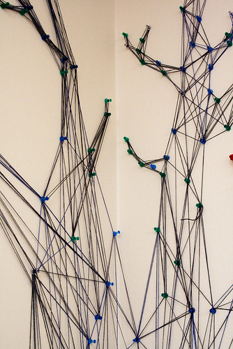 A tree made from string-3