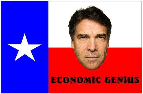 Rick Perry, Economic Genius?