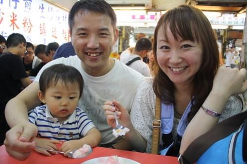 [台湾2.5] 夜市で食べたかき氷がめちゃうまかった。