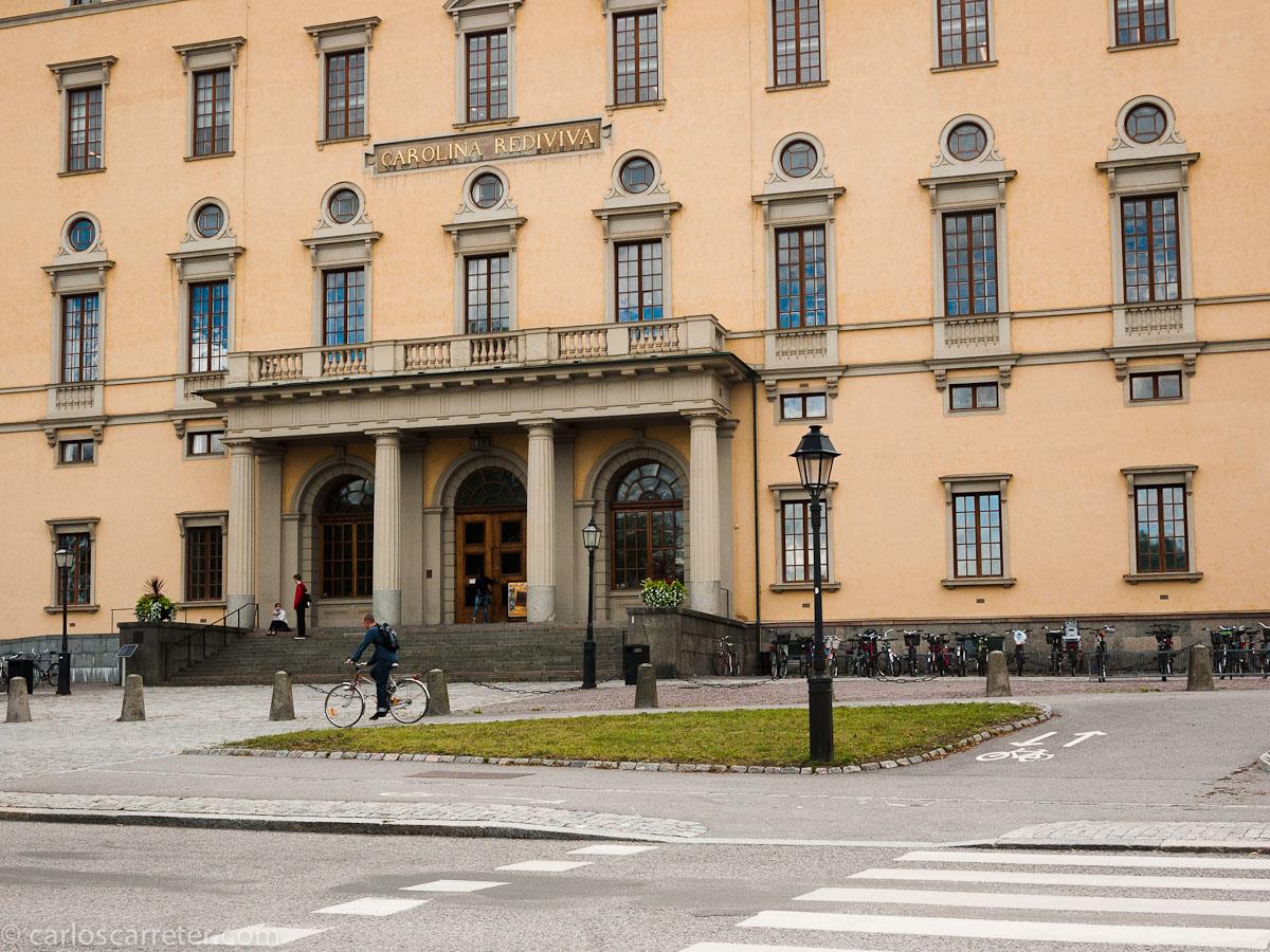 Carolina Rediviva (biblioteca universitaria)