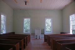 Old Pickens Presbyterian Interior