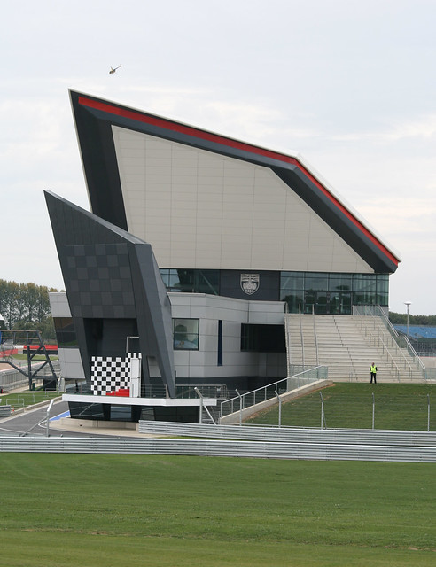 The new pits at Silverstone...