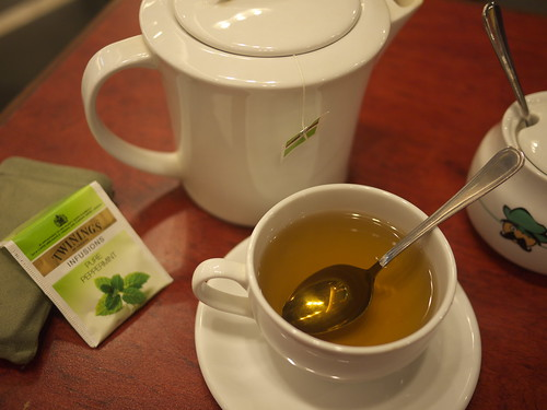 Peppermint Tea @ Kafe Pisa