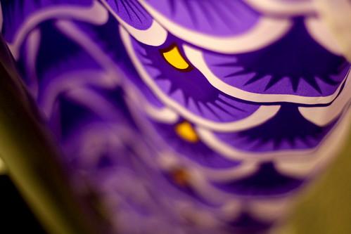 Friday: purple fish