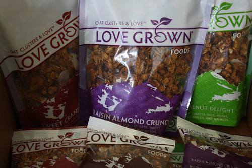 Love Grown granola