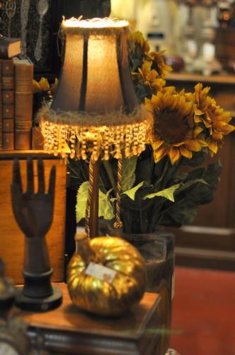 hand + lamp
