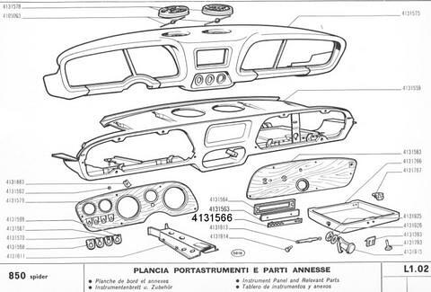 Fiat 850 Spider Engine Fiat 124 Sport Spider Wiring