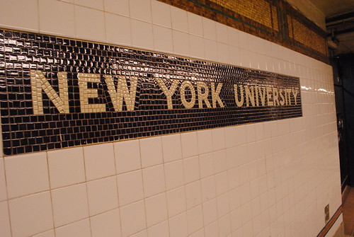 New York University's subway station by alan.grabinsky