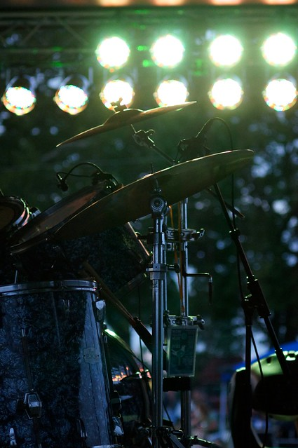 Drum Kit and Lights