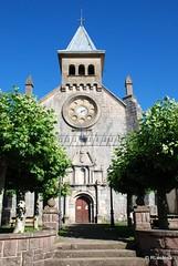 Fachada de la iglesia de San Nicolás de Bari, Burguete