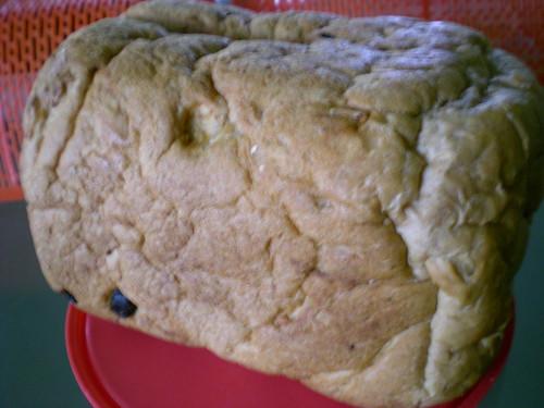 Julia's mum's homemade bread