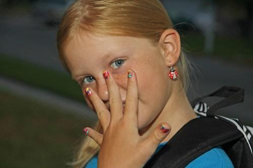 2nd grade nails