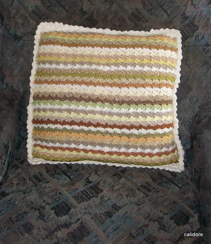 Plant Dyed wool Cushion