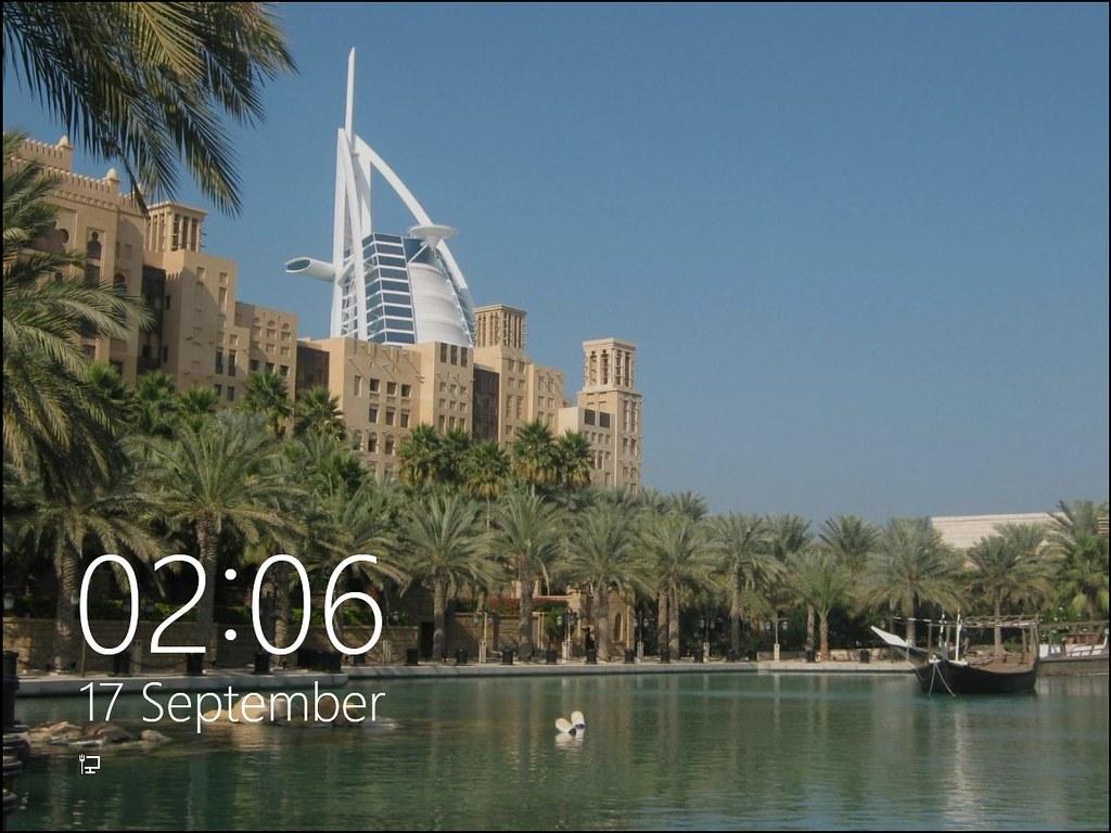 Windows 8 Lock-screen