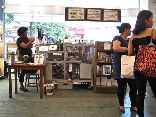 Book Machine, nyc 2011. 1