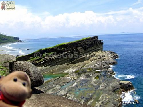Magasang Rock Formation