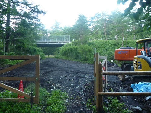 吉田口遊歩道, 一合目から富士山に登る Climbing Mt.fuji, from the starting point of Yoshidaguchi Climb Trail