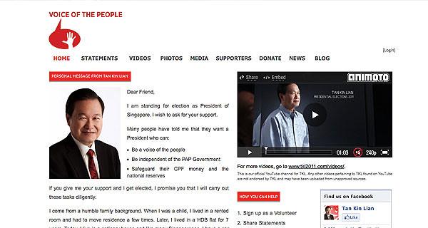 VOICE OF THE PEOPLE - Tan Kin Lian