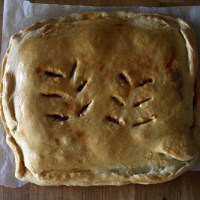 Tuna and Red Pepper Pie (Empanada de Bonito)