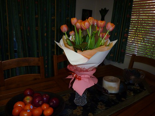 Lovely flowers from Tracy by fluffy 777