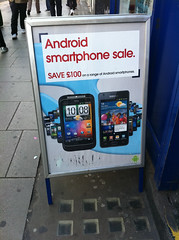 Android smartphone sale