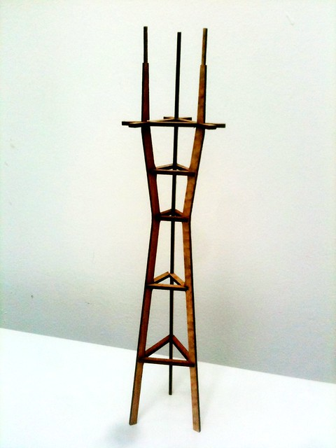 Sutro Tower Model (After)