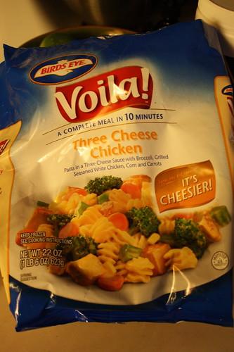 Birds Eye Voila! Three Cheese Chicken frozen meal