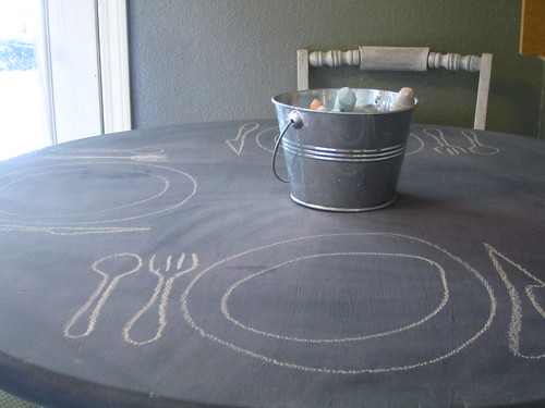 Finished Chalkboard Table 3