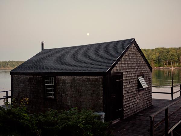 Full Moon Rising Maine 2