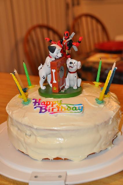 101 Dalmatians and Deadpool Cake