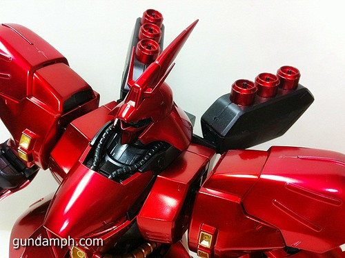 MG Sazabi Metallic Coating (Titanium-Like Finish) (49)