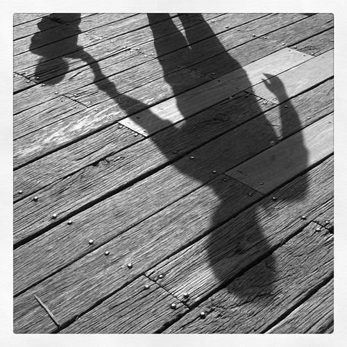 Shadows - Daddy and his little girl