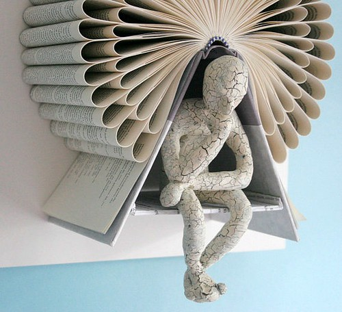 Image result for book sculpture