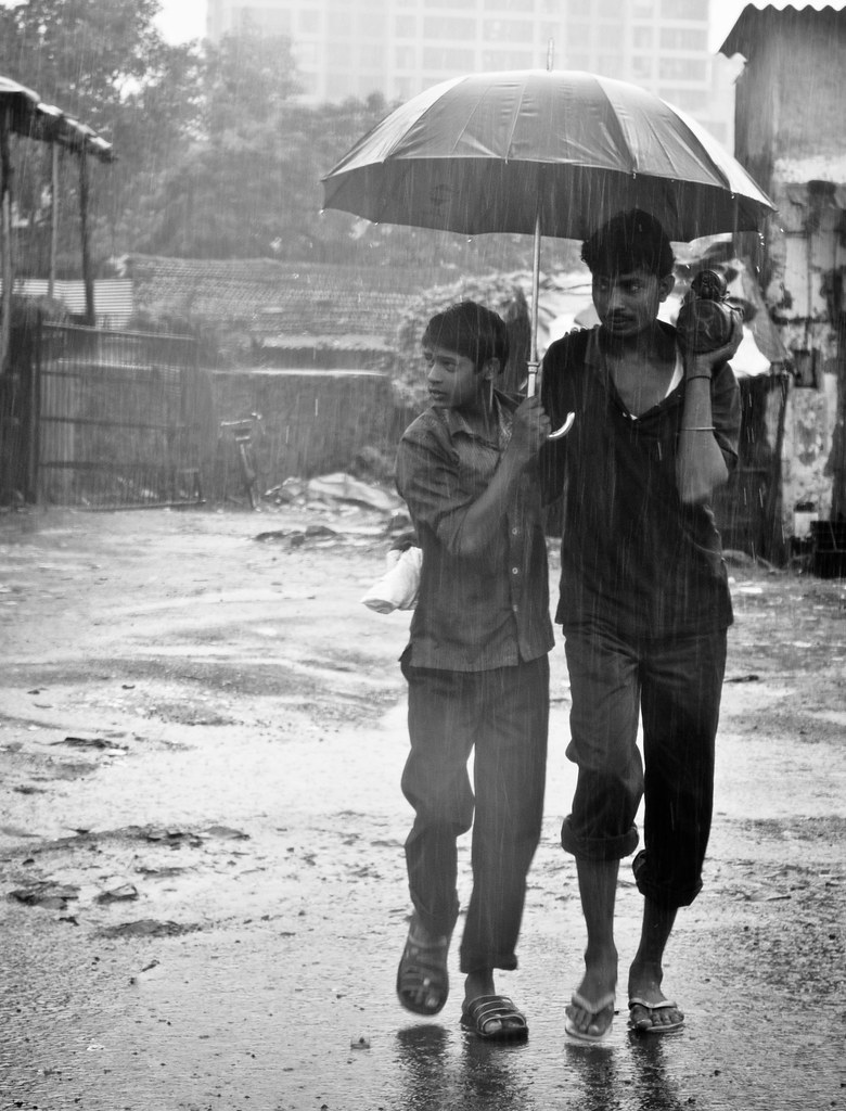 Duo in Rains... croppped version