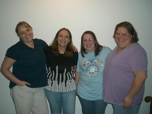 Sara, Amy, Liz, Marcy