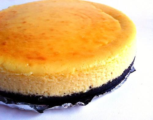 Chocolate Lime Cheesecake II