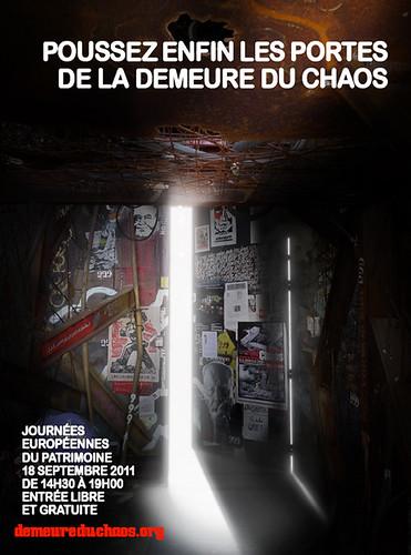 Journées Européennes du Patrimoine à la Demeure du Chaos