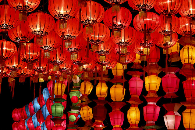 all kinds of lanterns