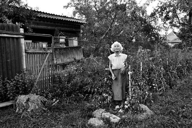[Elena: In the garden]