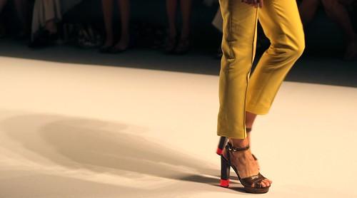 Jill Stuart runway shoes
