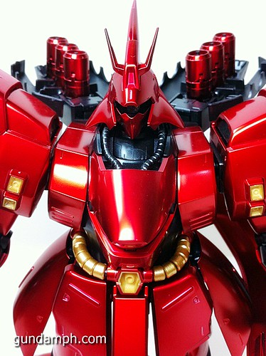 MG Sazabi Metallic Coating (Titanium-Like Finish) (61)