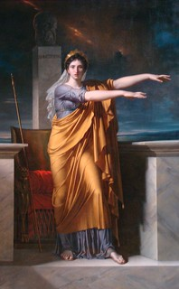 Meynier, Charles (1800) Polyhymnia Muse of Elo...