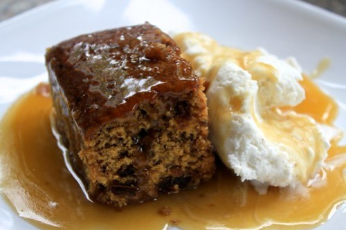 Sticky Date Pudding with Toffee Sauce