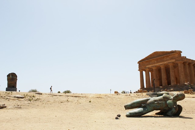 temples and sculptures of agrigento, sicicly