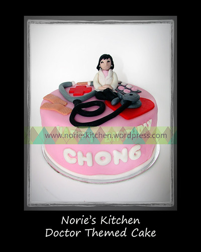 Norie's Kitchen - Doctor Themed Cake - Front by Norie's Kitchen