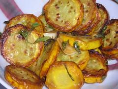 zucchini with mint