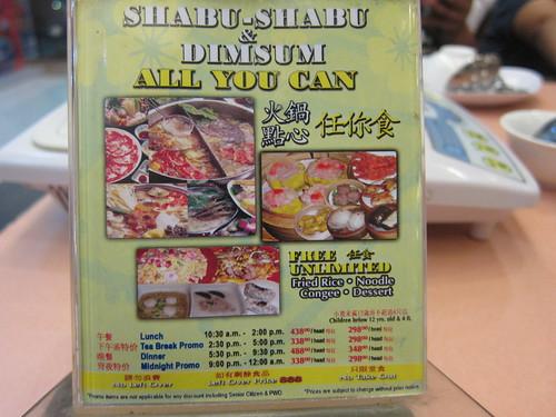 Golden Fortune Shabu-Shabu and Dimsum Buffet