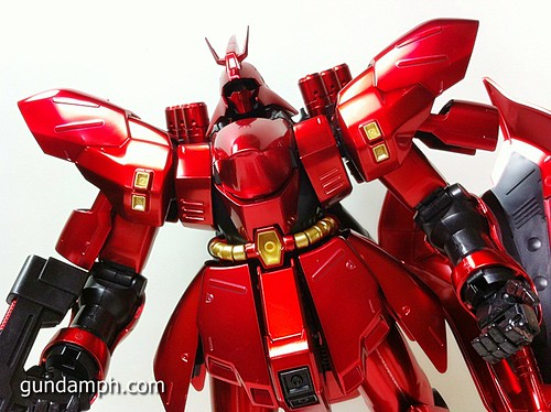 MG Sazabi Metallic Coating (Titanium-Like Finish) (62)